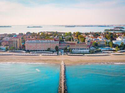 Hotel in der Nähe der Strände von Venedig